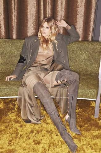 David Bellemere for Alexandre Vauthier, Model Toni Garn