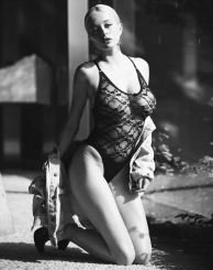 Caroline Vreeland | British GQ by David Bellemere