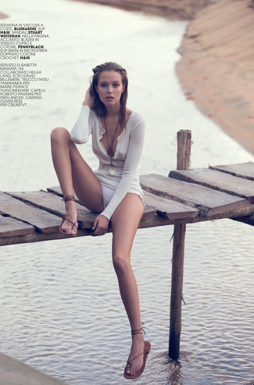 Josephine Skriver for Marie Claire by David Bellemere 6