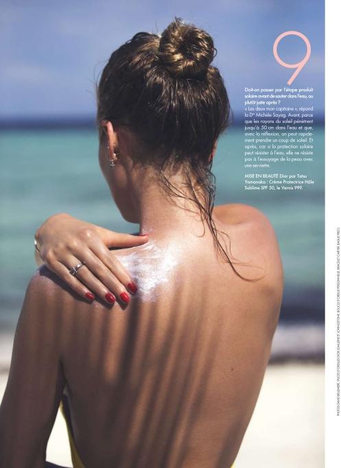 Toni Garrn by David Bellemere | Elle France June 2016