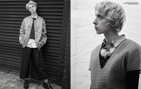 Gender Bender for Sportswear International Magazine by IAIN MCKELL