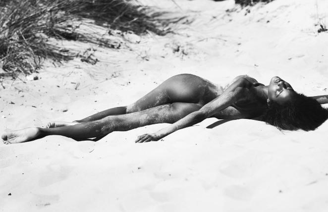 Ebonee Davis For LUI Lensed By David Bellemere
