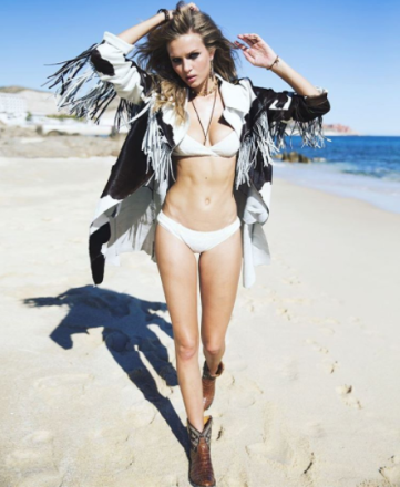 Josephine Skriver by DAVID BELLEMERE for Signature International