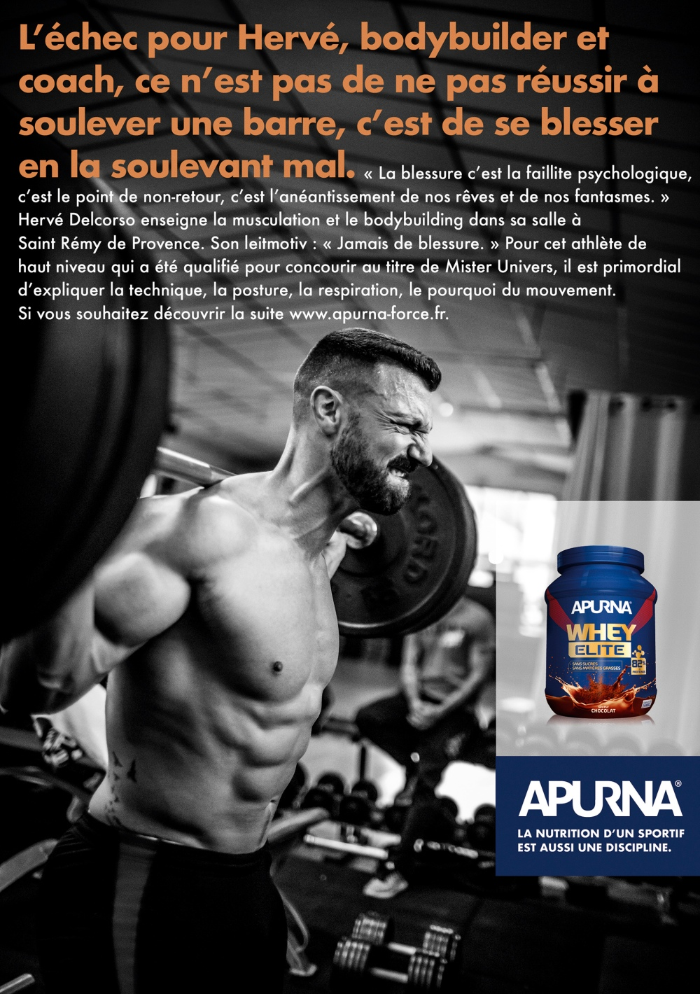 HERVE_ROMAIN STAROS shoots advertising campaign for APURNA
