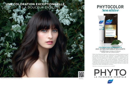 Ralph Mecke Shoots For Phyto France Phytocolor
