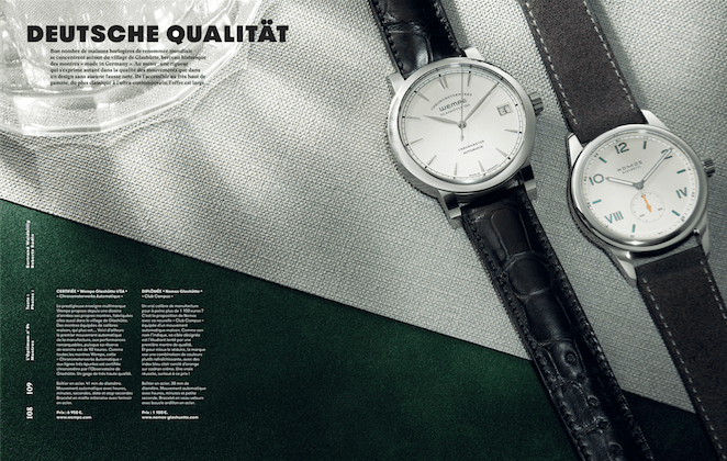 ROBERTO BADIN for L'Optimum - 'Watches'
